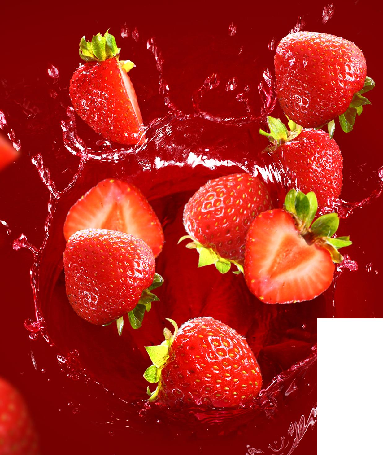 Freeze Syrup – Erdbeere
