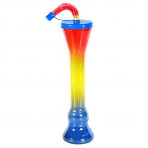 Flat Cup Blue